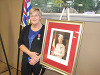 Judy with Diamond Jubilee Medal